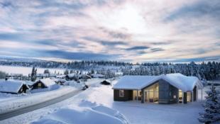 Stilfull hytte med plass til heile familien!