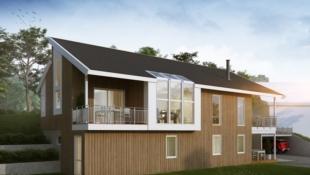 Lillehammer - Innholdsrik arkitekttegnet bolig på Søre Ål med 4 sov, 2, bad, vaskerom, TV-stue, voksenavdeling, stor stue med svært godt lys.