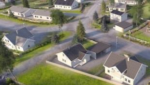 Solrik eneboligtomt på Reinsvoll. Barnevennlig. Gode tog- og bussforbindelser.