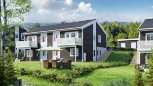 KAMPANJE* Røysligrenda - 6 av 10 solgt! Familievennlig og helt sentralt beliggende tomannsbolig med 4 sov, 2 bad, eget vaskerom, carport, utebod og hage.
