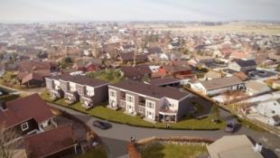 Varhaug | Opstadvegen | 5 flotte rekkehus og 2 horisontaldelte leiligheter