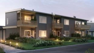 Kisamoen - Nordkisa // Nye, moderne 4-roms leiligheter på 84 kvm. med terrasse/balkong og carport. Nær butikk, barnehage, skole og bussholdeplass.