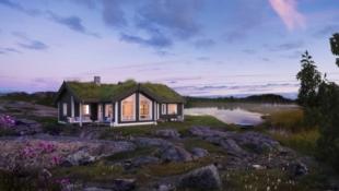 HOLDA - Romslig familiehytte med 3 soverom i etablert hyttegrend med flott utsikt.