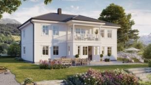 Dyrvikhøgda: Populære Nøkkelferdig enebolig Raumarheim - Stort Familiehus