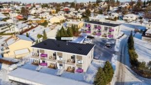 Mosserød - 10 av 12 solgt -  Moderne selveier leiligheter - 2 soverom, attraktiv beliggenhet