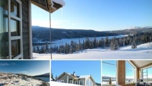 Synnfjellet / Spåtind - Innflyttingsklar hytte med flott utsikt på solrik tomt. Rett ved alpinbakken og Spåtind Sport Hotel. Fjell - Vann - Skog - Ski – Sykkel
