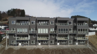 Vikeså - innflyttingsklare leiligheter med heis og utsikt.