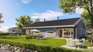 1 enhet solgt -Tomannsbolig i Fjell-ljom Boligfelt, Skurdalen