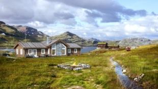 Storslått hytte på Mosetra 2, nær alpinbakken og langrennsløypene.