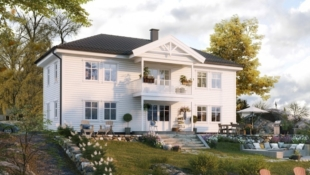Dyrvikhøgda: Nøkkelferdig enebolig Fagerli - Praktisk Familiehus