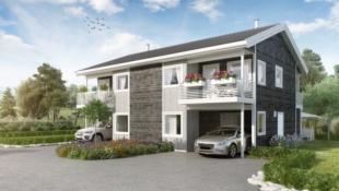 Prosjektert tomannsbolig i Alversund - BEGGE SOLGT