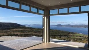 NY PRIS! Moderne innflytningsklar hytte med fantastisk utsikt - kun 1 time fra Trondheim.
