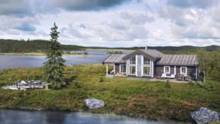 Innholdsrik familiehytte på Lifjell/Høgefjell Fantastisk utsikt og solforhold