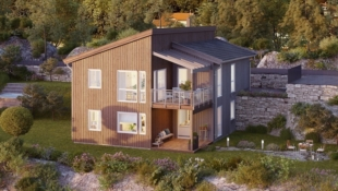 Flott barnevennlig enebolig i Lofotens råeste boligområde!
