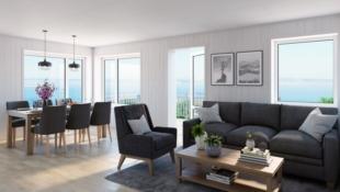 Moderne leiligheter midt i Judaberg sentrum-2 soverom-nøkkelferdig!