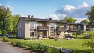 Heggenes - Moderne og praktiske leiligheter med alt på ett plan. Carport.