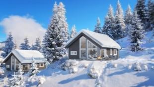 Hytte med en nydelig utsikt over Austnesfjorden
