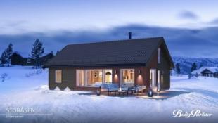 Vegglifjell Sør/Steintjønn - Romslig hytte med 4 soverom og hems. Nydelig utsikt og optimale solforhold. Skiløyper i umiddelbar nærhet. Kort vei til Sørkjevatn med bade og fiskemuligheter.