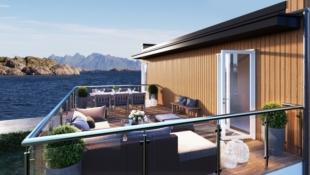 Realisere boligdrømmen i Lofotens råeste tomteområde! Står klar høsten 2018.