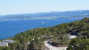 22 Solrike utsiktstomter og mulighet for båtplass i ny marina kun 1 time fra Trondheim
