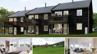 Visning 6/6! Jaren – Nye boliger med smart planløsning. Rolige og trygge omgivelser. Kun 1 time fra Oslo.