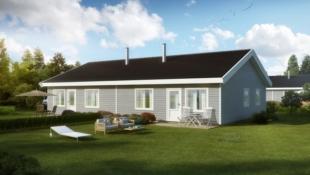 TOMTEVISNING 21/10 kl. 13! Reinsvoll - Moderne leilighet med alt du trenger på ett plan. 2 soverom. Gode tog- og bussforbindelser. Barnevennlig og solrikt.