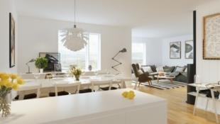 KAMPANJE*! Nye leiligheter på Granrudtunet, Øyer sentrum. Solrikt, ett plan, 2/3 sov