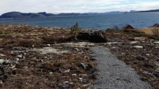 Flott hytte med fantastisk beliggenhet på Stokkøya