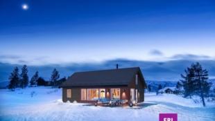 Innholdsrik hytte med 4 soverom og selveiertomt på 1514 m²